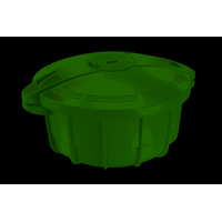 Cocotte micro ondes Vert SOGO OLL-SS-10775G