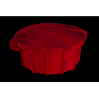 Cocotte micro ondes Rouge SOGO OLL-SS-10775R
