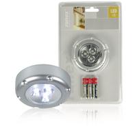 Interrupteur à lumière LED 3 Argent