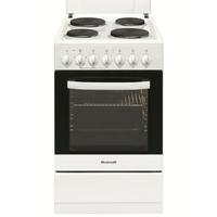 Brandt KE1500W Autonome 52L A Blanc four et cuisinière - fours et cuisinières (Autonome, Moyenne, Electrique, Plaque étanche, 437 x 315 x 337 mm, A) [Classe énergétique A]