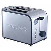 A&C Home TO852G Grill Pain Inox Gris 800 W