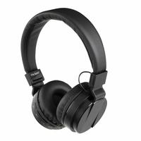 Clipsonic TES148N Casque stéréo Hi-Fi compatible Bluetooth avec microphone intégré Noir