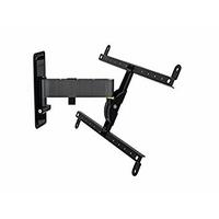Erard 048260Support pour TV, métal, noir, 32,5x 9.7x 31.4cm
