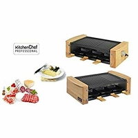kitchenchef kcwood. 6–Barbecue (900W, Grill de contact, électrique, 6personnes (s), table, Grid)