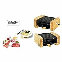 Kitchen Chef KCWOOD4 - Raclette/Pierre à Cuire