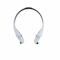 Clip Sonic Technology TES165 Casque de sport Bluetooth Blanc