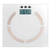 Pèse personne électronique blanche DOM254W
