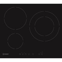 Indesit Ivia 630L D C–New encastrable plan de cuisson à induction Noir plan cuisson