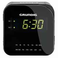 Grundig Sonoclock 590 Radio-réveil Écran LED Tuner AM/FM Noir/argent