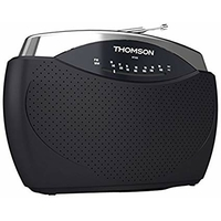 Thomson RT222 Radio Portable FM/MW Gris anthracite
