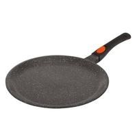 Kamberg - 0008050 - Crêpière 24 cm - Manche Amovible - Fonte d'Aluminium - Revêtement type pierre - Tous feux dont induction - Sans PFOA
