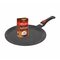 Poêle à crêpe Kaiser 24 cm avec 1 kilo de farine de sarrazin offert