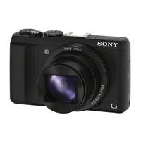 Sony Appareil photo compact HX60V avec zoom optique 30x - appareils photos numériques (20.40 MP, 5184 x 3456 pixels, CMOS, 30x, Full HD, Noir)