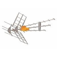 Dvb-t/t2 antennes extérieures 36.5 db vhf macab