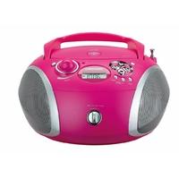 Grundig Lecteur CD/Radio RCD 1445 USB rose / argent
