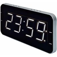 Roadstar de 2615Horloge radio avec design fin (Grand Affichage, double alarme, Veille/fonction snooze, piles de secours)