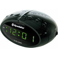 Roadstar CLR-2466 Radio Réveil Tuner FM Noir