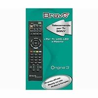 Bravo TC-Original-3 Télécommande pré-programmée pour TV Sony Noire