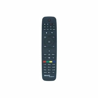 Bravo TC-Original-4 Télécommande pré-programmée Pour TV Philips Noir