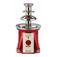 Ariete 2962 Fontaine à chocolat Party Time, 90 W, acier inoxydable, variateur double intensité