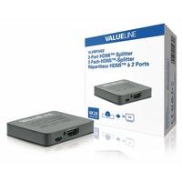Splitter HDMI Entrée HDMI - Sortie 2x HDMI Noir