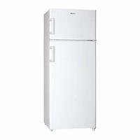 Haier HTM-546W Autonome 210L A+ Blanc réfrigérateur-congélateur - Réfrigérateurs-congélateurs (210 L, Pas de givre (réfrigérateur), 42 dB, 2 kg/24h, A+, Blanc) [Classe énergétique A+]