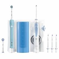 Oral-B Kit pour l'hygiène dentaire Brosse à dents électrique Oral-B Pro 700 et hydropulseur Waterjet