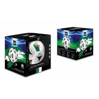 Enceinte bluetooth Ballon de Foot Revêtement Cuir Synthetique - Taille 18 cm - socle inclus - Puissance 20 W (ALGERIE)