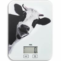ADE KE1603 Inka - Vache Balance de Cuisine numérique Plastique Multicolore 20 x 23 x 2 cm