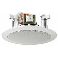Monacor PA plafond haut-parleurs ligne 100V 6/3/1.5W (EDL-25)