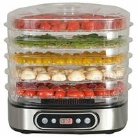 Kitchen chef - secco5ix - Déshydrateur fruits et légumes 5 plateaux 450w