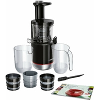 Bosch MESM731M Extracteur de Jus Plastique noir Inox 33 x 23 x 37 cm