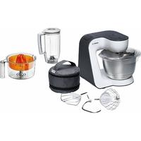 Bosch MUM50123 Kitchen Machine Compacte Blanc/Gris Anthracite [Classe énergétique A]