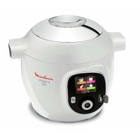 Moulinex YY2943FB Multicuiseur Intelligent Cookeo avec prise USB 150 Recettes 6L Finition Chromé 1600 W