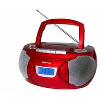 Roadstar rcr-3650ump – Lecteur de CD (LCD, Bleu, FM, PLL, Externe, CD Audio, Noir)