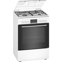 Bosch HXR39IG20 four et cuisinière Noir, Blanc Combi A - Fours et cuisinières (Cuisinière, Noir, Blanc, Rotatif, LED, Bas, Tiroir de rangement) [Classe énergétique A]