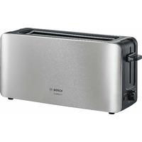 Bosch tat6 a803 longue Grille-pain 2 fentes Comfort Line, pain automatique ZENT rierung, fonction décongélation, 1090 W, acier inoxydable/noir