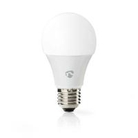 Nedis WIFILC10WTE27 Ampoule LED Intelligente Wi-FI, Pleine Couleur et Blanc Chaud, E27