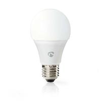 Nedis WIFILW10WTE27 Ampoule LED Intelligente Wi-FI, Blanc Chaud à Blanc Froid, E27