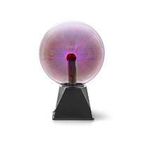 Nedis FUDI215BK Boule Lumineuse Plasma | 10 W | 3500 LM | Verre | 20 cm