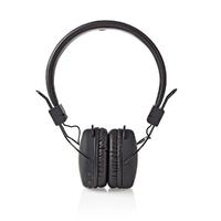 NEDIS HPBT1100BK Casque sans Fil, Bluetooth, Enveloppant, Pliable, Noir