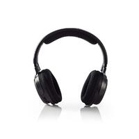 Casque d'écoute sans fil Nedis HPRF200BK | Radiofréquence (RF) Casque avec pavillon fermé Noir