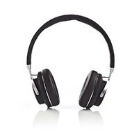 NEDIS HPBT3220BK Casque sans Fil, Bluetooth, Enveloppant, Étui de Transport, Noir