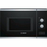 Bosch Serie 4 BEL550MS0 Intégré - Micro-ondes (Intégré, Micro-ondes grill, 25 L, 900 W, Rotatif, Noir, Acier inoxydable)