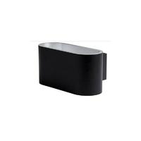Applique Glam 90 LED U&D - 10W - 3000K - 680Lm - dimmable – Noir/Argent