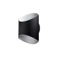 Applique Glam 250 LED U&D - 12W - 3000K - 520Lm - dimmable – Noir/Argent