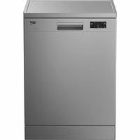 Beko TDFN15311S lave-vaisselle Autonome 13 places A+ - Lave-vaisselles (Autonome, Argent, Taille maximum (60 cm), boutons, Rotatif, LED, Statique) [Classe énergétique A+]