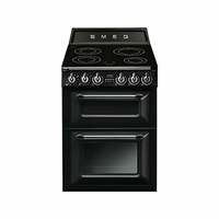 Cocina Inducción SMEG TR62IBL Negro 60cm Induc