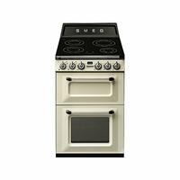 Cocina Inducción SMEG TR62IP Crema 60cm Induc