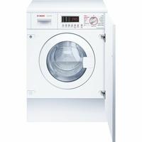 Bosch WKD28541FF Intégré Charge avant B Blanc machine à laver avec sèche linge - Machines à laver avec sèche linge (Charge avant, Intégré, Blanc, Gauche, LED, Acier inoxydable) [Classe énergétique B]